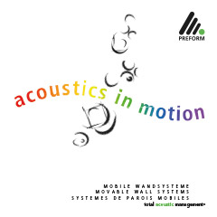 Acoustics in motion 2018