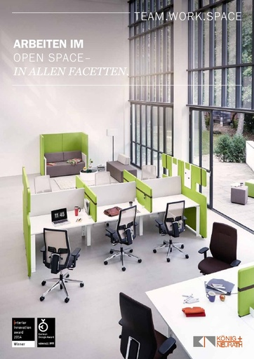 TEAM WORK SPACE Katalog  DE