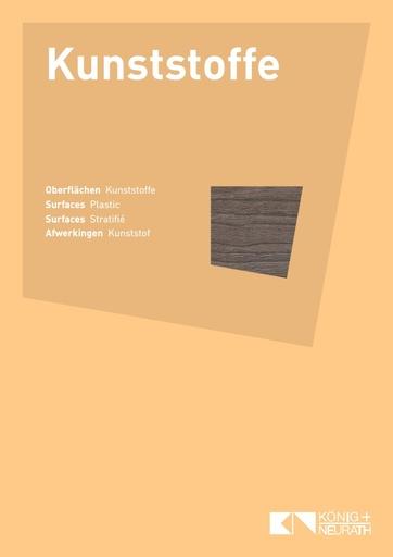 Oberflaechenkarte Kunststoff 2018