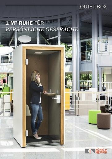 QUIET BOX Katalog DE