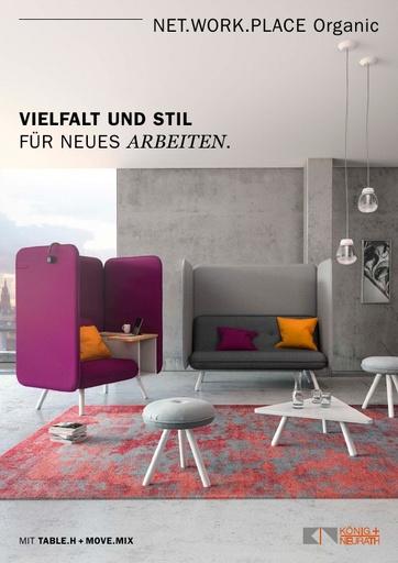 NET WORK PLACE Organic Katalog DE 2017 11