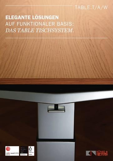 TABLE Katalog DE
