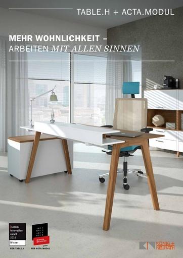TABLE H ACTA MODUL Katalog DE