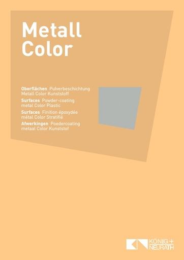 Oberflaechenkarte Metall 2018